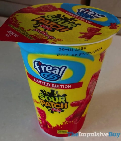 F real Limited Edition Sour Patch Kids Redberry Sherbet Shake
