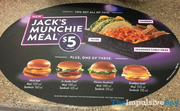 Jack in the Box s $5 Jack s Munchie Meal