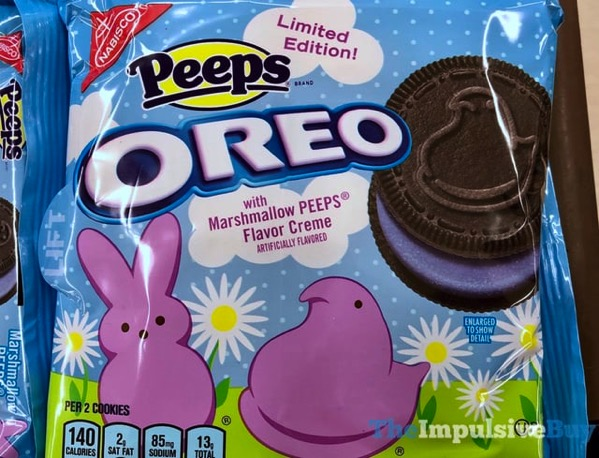 Limited Edition Peeps Oreo Cookies with Chocolate Wafers jpg
