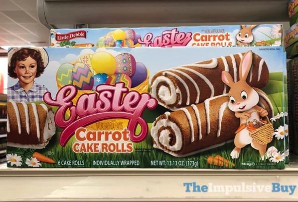 Little Debbie Easter Carrot Cake Rolls