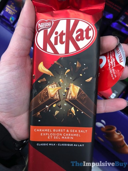 Nestle Kit Kat Caramel Burst  Sea Salt