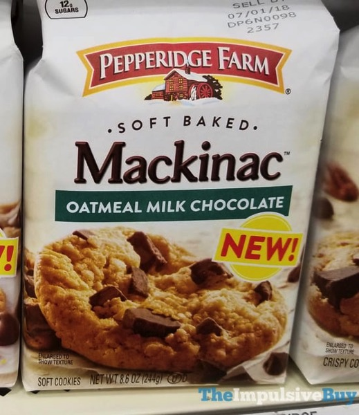 Pepperidge Farm Mackinac Oatmeal Milk Chocolate Cookies