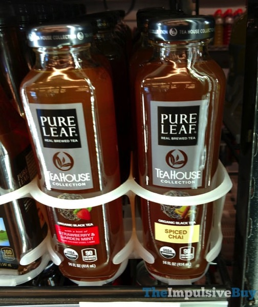Pure Leaf Tea House Collection  Strawberry  Garden Mint and Spiced Chai