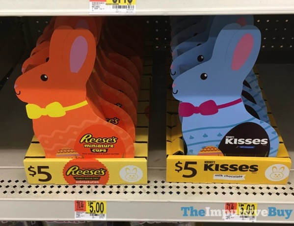 Reese s Miniature Cups and Hershey s Kisses Mini Bunnies
