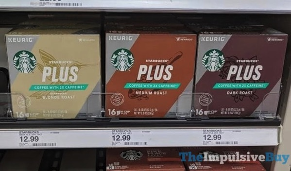Starbucks Plus K Cups
