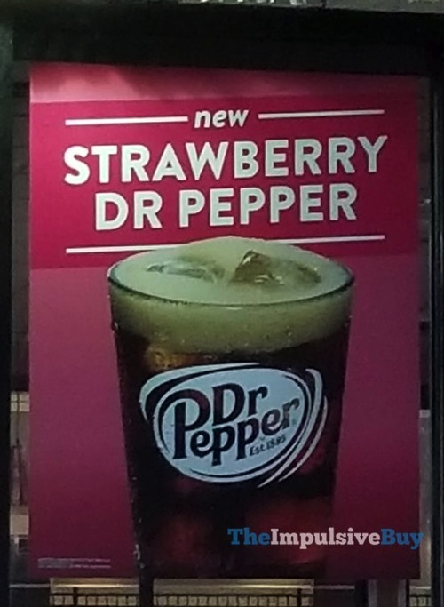Strawberry Dr Pepper at Jack in the Box