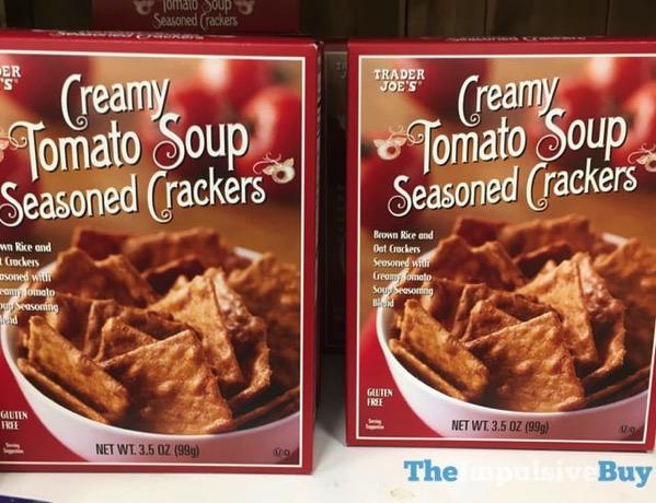 Trader Joe s Creamy Tomato Soup Seasoned Crackers