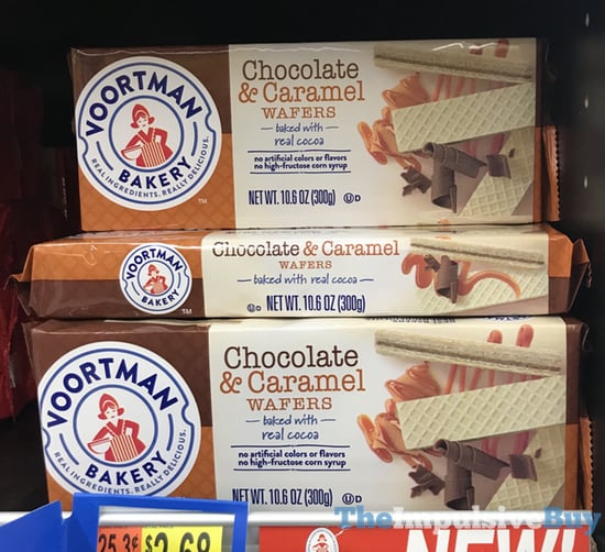 Voortman Bakery Chocolate  Caramel Wafers