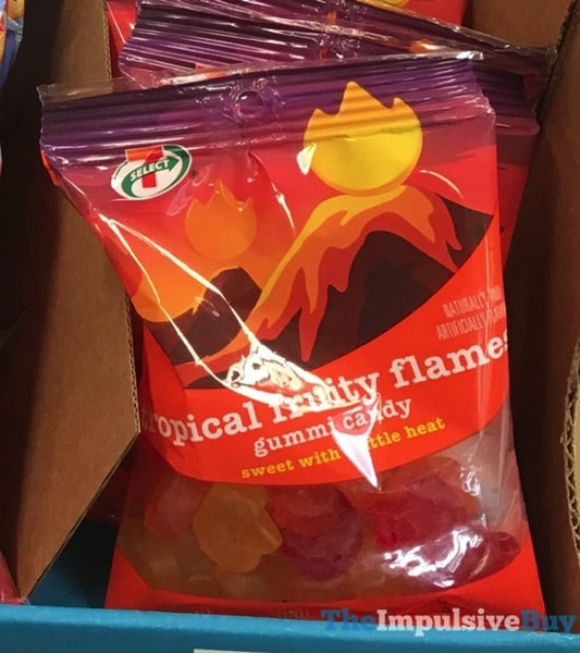 7 Select Tropical Fruity Flames Gummi Candy
