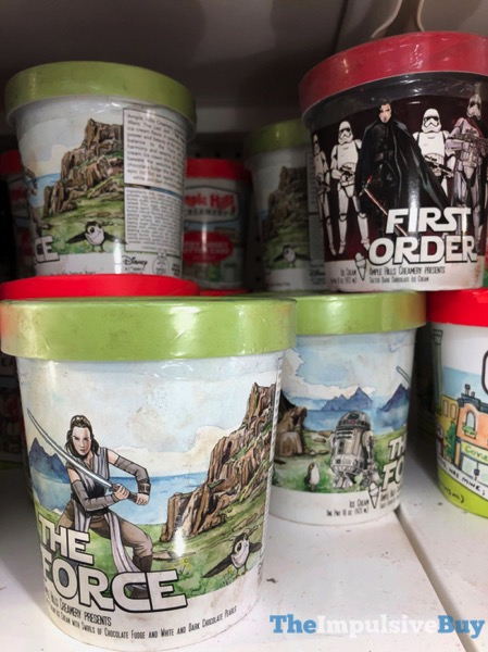 Ample Hills Creamery The Force and First Order Ice Cream Flavors