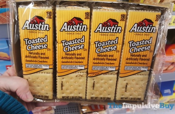 Austin Toasted Cheese Sandwich Crackers