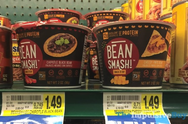Bean Smash Dip  Chipotle Black Bean and Cheesy Pinto Bean