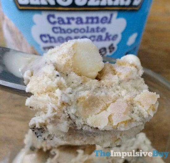 Ben  Jerry s Caramel Chocolate Cheesecake Truffles Ice Cream 2