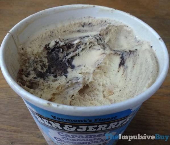 Ben  Jerry s Caramel Chocolate Cheesecake Truffles Ice Cream