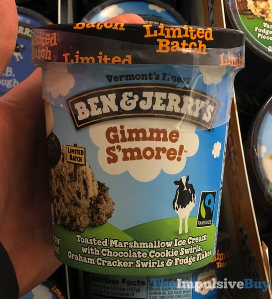 Ben  Jerry s Limited Batch Gimme S more Ice Cream