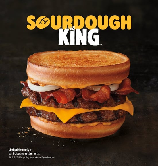Burger King Sourdough King
