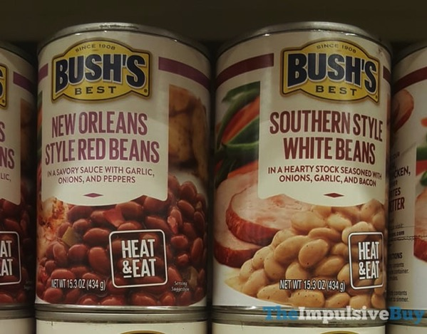 Bush s Best New Orleans Style Red Beans and Southern Style White Beans