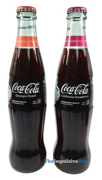 Coca Cola Georgia Peach and California Raspberry