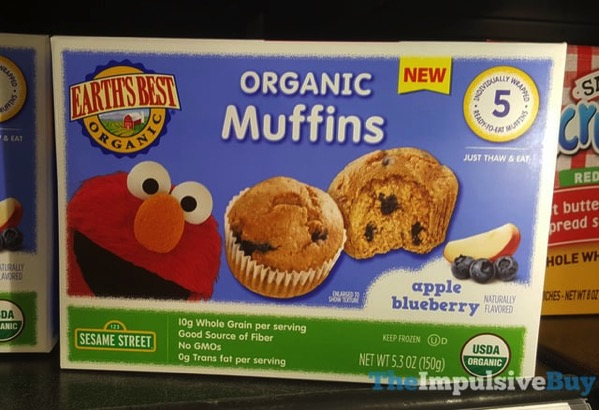 Earth s Best Organic Muffins Apple Blueberry