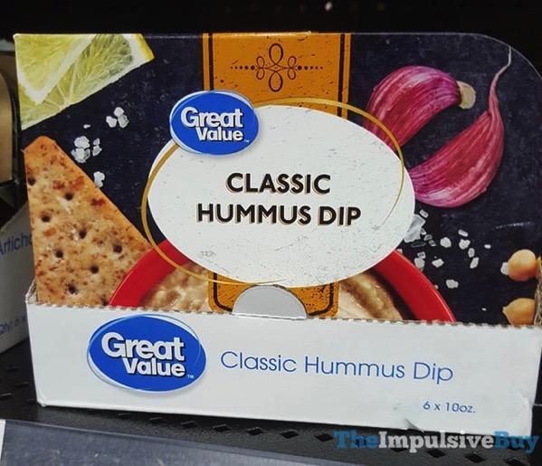Great Value Classic Hummus Dip