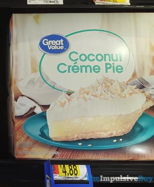 Great Value Coconut Creme Pie