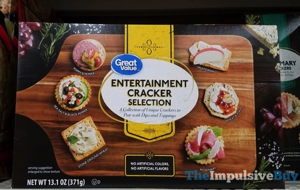 Great Value Entertainment Cracker Selection