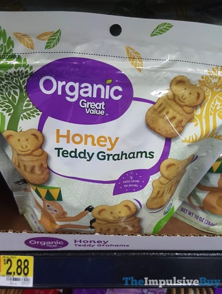 Great Value Honey Teddy Grahams