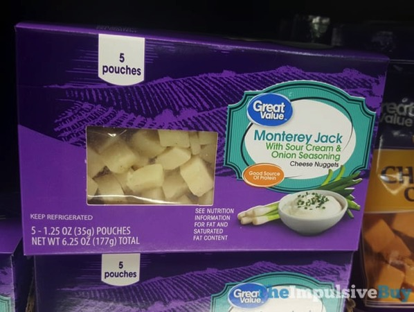 Great Value Monterey Jack with Sour Cream  Onion Seasoning