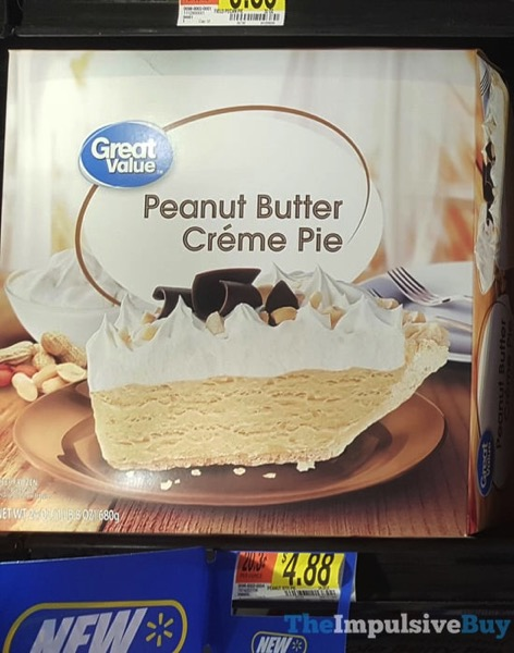 Great Value Peanut Butter Creme Pie