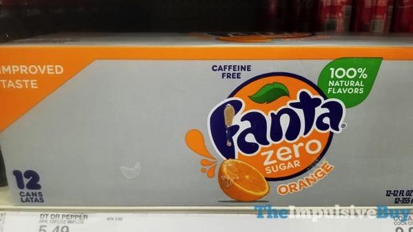 Improved Taste Fanta Zero Orange