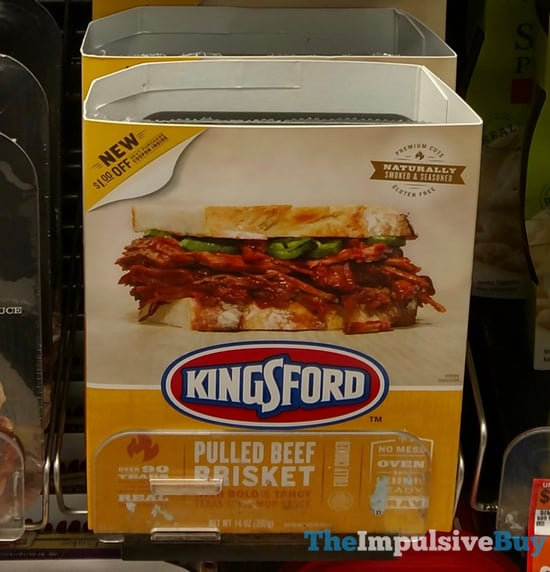 Kingsford Pulled Beef Brisket