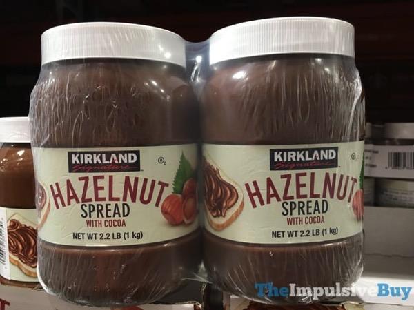 Kirkland Signature Hazelnut Spread with Cocoa