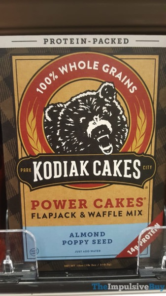 Kodiak Cakes Power Cakes Almond Poppy Seed