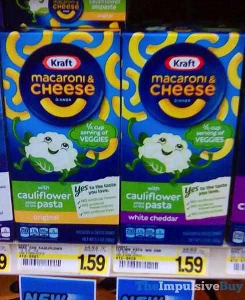 Kraft Macaroni  Cheese with Cauliflower Pasta