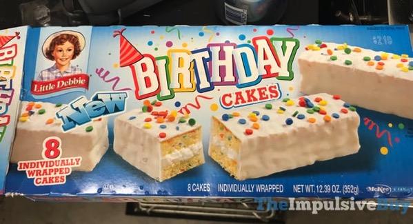 Little Debbie Birthday Cakes
