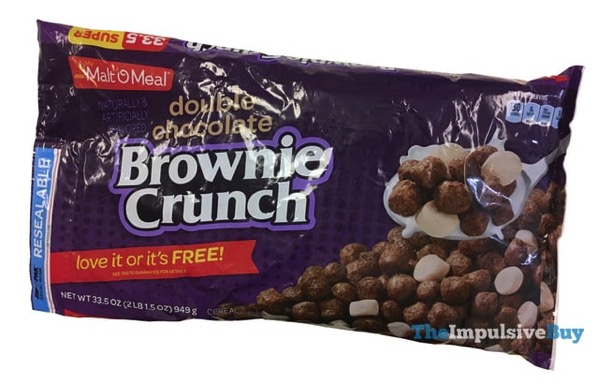 Malt O Meal Double Chocolate Brownie Crunch Cereal