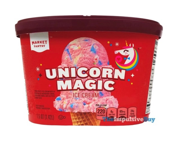 Market Pantry Unicorn Magic Ice Cream