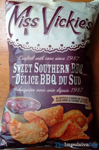 Miss Vickie s Sweet Southern BBQ Potato Chips