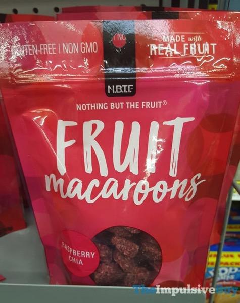N B T F Raspberry Chia Fruit Macaroons