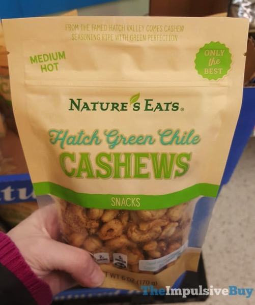 Nature s Eats Hatch Green Chile Cashews