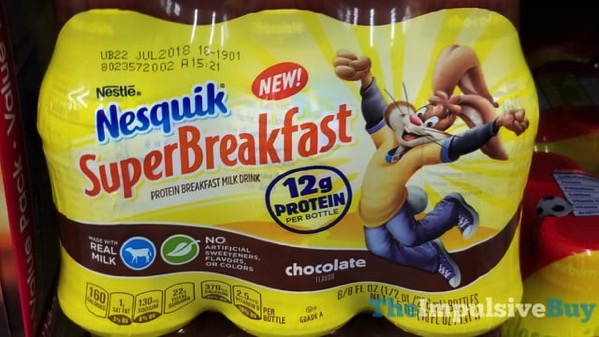 Nestle Nesquik Chocolate Super Breakfast