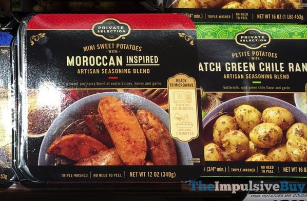 Private Selection Petite Potatoes  Moroccan Inspired and Hatch Green Chile Ranch