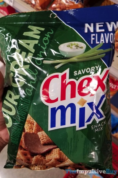 Savory Chex Mix Sour Cream and Onion Snack Mix