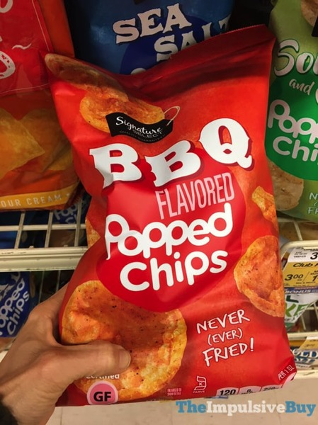 Signature Select  Safeway BBQ Popped Chips