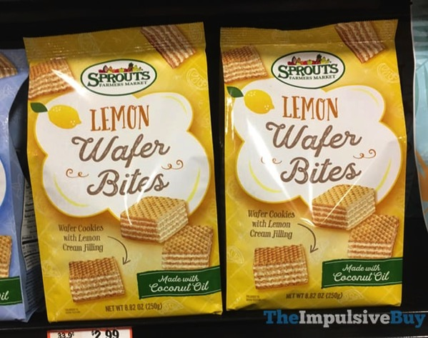 Sprouts Lemon Wafer Bites