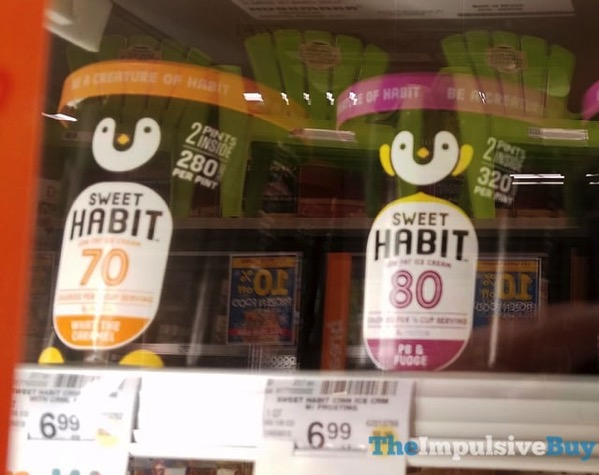 Sweet Habit Low Fat Ice Cream  What the Caramel and PB  Fudge
