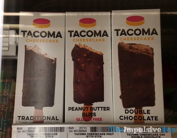 Tacoma Cheesecake Sticks  Traditional Peanut Butter Bliss and Double Chocolate