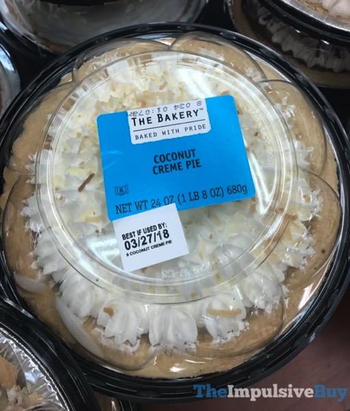 The Bakery at Walmart Coconut Creme Pie
