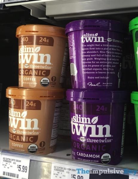 Three Twins Slim Twin Low Fat Ice Cream  Coffee and Cardamom