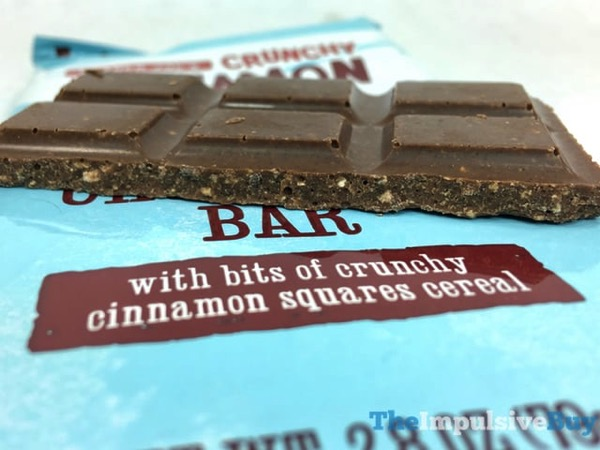 Trader Joe s Crunchy Cinnamon Squares Milk Chocolate Bar 2